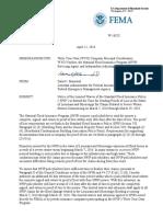 FEMA Bulletin