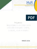 Especificaciones Tecnicas Caserio San Jose, Chahal a. v. Ivan Milla