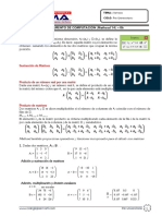 Matrices en Mathcad v14