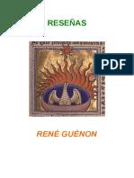 26a-Guénon, René--Reseñas