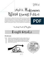 Windbreaks and Hedgerows ~ Natural Features - Design Ideas for the Outdoor Classroom