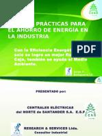 Practicas Para El Ahorro de Energia en La Industria