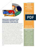 creating cooperative learning groups and assigning jobs handout-1
