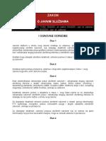 Zakon o Javnim Sluzbama