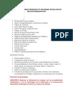 Indice de Contenidos Promover Tic Programa Tecnologo en Gestion Administrativa (2)