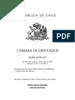 Informe sobre Alto Maipo - Congreso Chile (enero 2010)