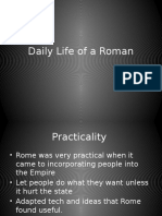 daily life of a roman lesson 2