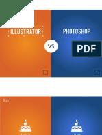 Illustrator vs Photoshop