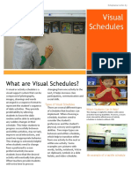 visual schedules poster