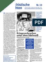 antifaschistische nachrichten 2003 #10
