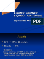 Laboratorio Clínico - Sindrome Ascítico