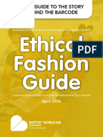 Ethical Fashion Guide 2016