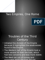 two empires one rome