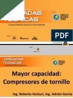 Compresores de Tornillo Mayor Capacidad