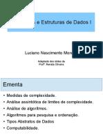 INTRODUÇÃO AED