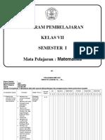 KKM Kelas VII - 1
