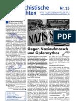 antifaschistische nachrichten 2003 #15