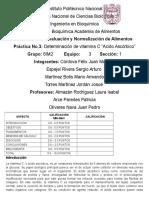 Instituto Politécnico Nacional Practica 3