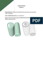 Polygonal Modeling - Praktikum 2
