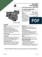Caterpillar C32 Engine Specifications