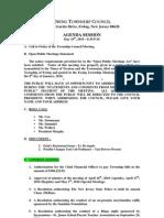 2010-05-10 Council Agenda Session