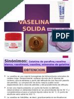 Vaselina Solida