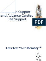 Basic Life Support and Advance Cardiac Life Support