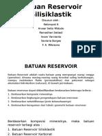 PPT Batuan Reservoir Silisiklastik