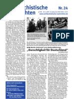 antifaschistische nachrichten 2003 #24