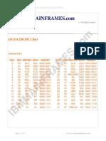 Ebc Dic Chart