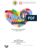 11 Days of Sharing Report