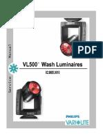 VL500 Service A