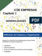 CAPITULO 1. GESTION DE EMPRESAS