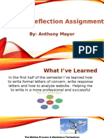 anthony mayor midterm reflection assignment