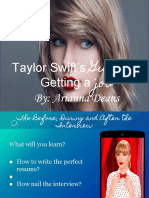 taylor swifts guide to getting a job