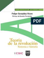 Teoria de La Revolucion. Sistema e Historia - Gonzalez Vicen