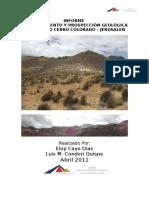 INFORME reconocimiento y prospeccion geologica- CERRO MILAGROSO.docx