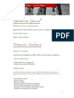 Cuarteto Orishas - Currículum