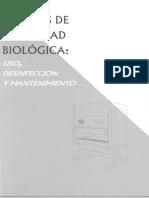 Cabinas de Bioseguridad