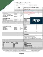 plan of study griffith matthew  2