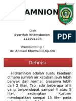 Hi Dr Amnion