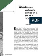 Globalizacion Sociedad y PoliticaG en La Erade La Informacion