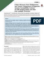1. Dif Glioma y Absceso Piogeno 2014