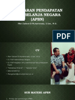 Anggaran Pendapatan Dan Belanja Negara APBN
