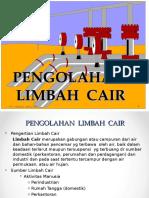 PENGOLAHAN  LIMBAH  CAIR 1.ppt