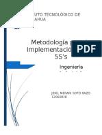 Metodología Para La Implementación de Las 5S