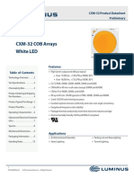 Luminus CXM32 Datasheet