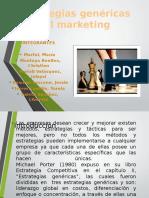 Estrategias Genéricas Del Marketing