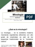 Clase 1.- Mixología Alumno 2016