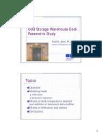 R&T 2001 - Cold Storage Warehouse Dock Study - Jekel